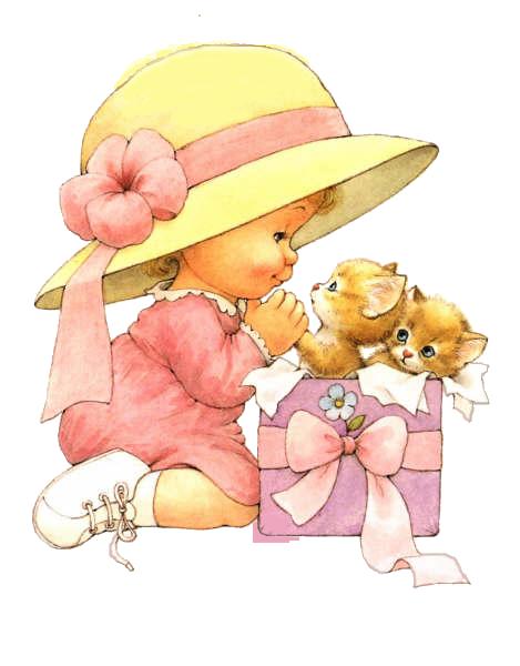 Рисунок иллюстрация девочка с