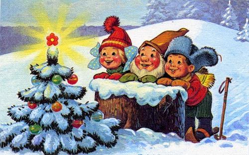 Новогодние детские картинки 3 января
